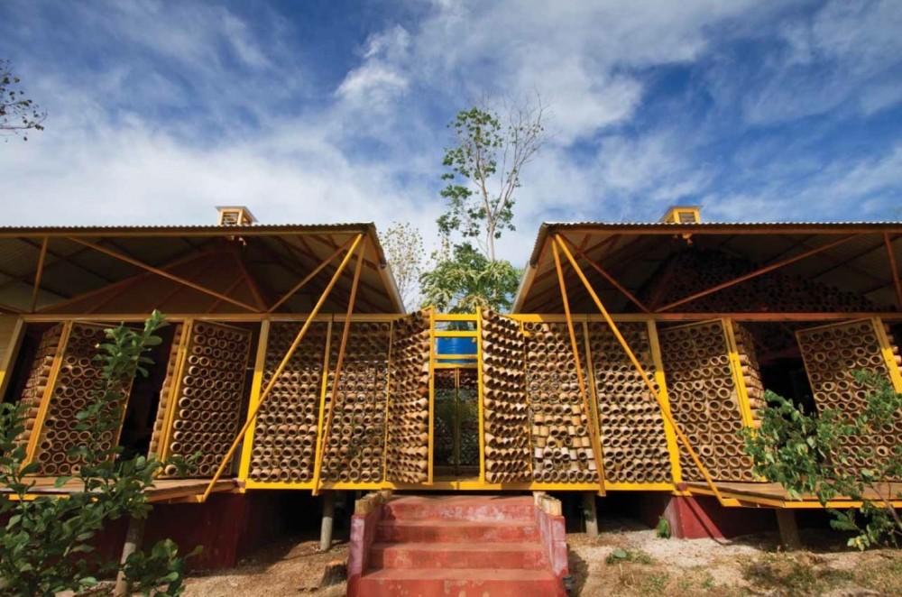 Arq benjamin garcia saxe gana premio mundial redclub10 39 s blog - Casa de bambu madrid ...